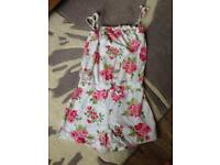 Next girls shorts play suit age 3