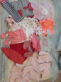 Baby girl clothes 0-6