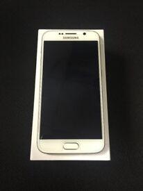 SAMSUNG S6 WHITE 32GB UNLOCKED EXCELLENT CONDITION
