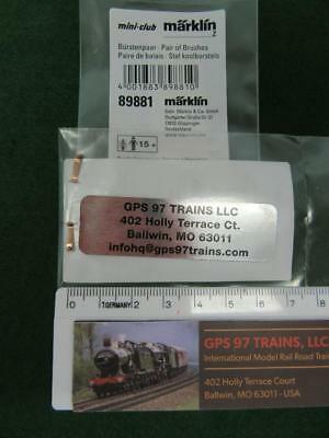 Z -  89881 Motor Brush Pair (Fitting Loco Numbers are in the Text) - New