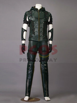Homecoming Green Arrow Season 4 Oliver Queen Cosplay Costume mp003215 (Homecoming Queen Costume)