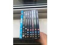 Complete set of Harry Potter DVDs - 8 films