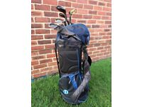 Golf clubs / bag / accessories
