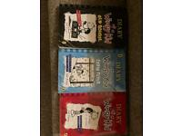 Diary of a wimpy kid Children's books x 3