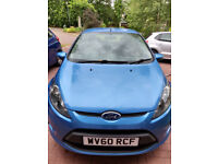 Ford Fiesta with full set of winter tyres