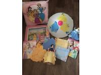 Disney Princess Bedroom Accessory Bundle