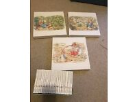 Beatrix Potter Complete Collection of Original Peter Rabbit Tales and Pictures