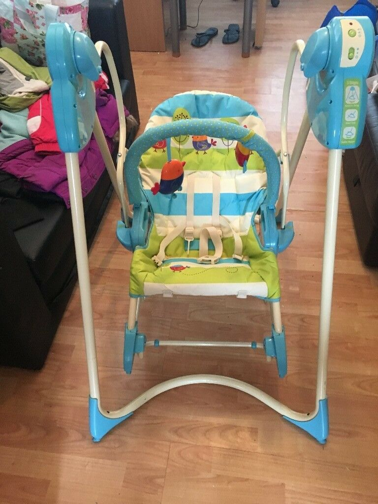 Fisher Price Swing and Rocker baby swing - Used but excellent condition