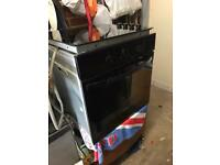 Zanussi built-in oven with Hotpoint electric hob