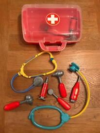 Toy doctors kit