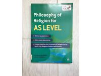 OCR Philosophy of Religion for AS and A2 –Edited by Jon Mayled–Matthew Taylor ISBN 978-0-415-36630-4