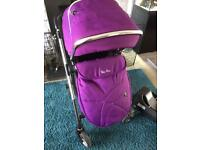Silver cross wayfarer pram full travel system inc isofix