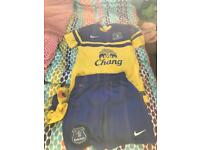 Full Everton kit