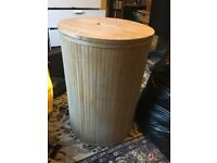 Big Wooden Wash/Laundry Basket