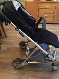 Mamas and papas urbo pram black