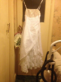 wedding dress 14-16