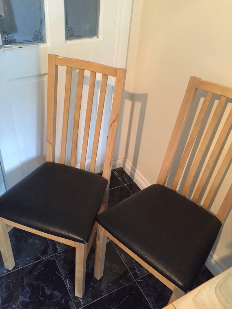 Marble Kitchen Dining Table 2 Chairs Middlesbrough North Yorkshire