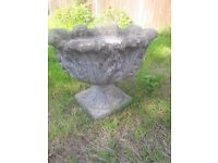 Antique Planter, solid, Two available.