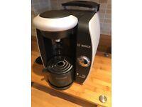 Tassimo coffee machine with stand