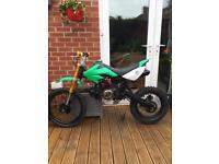 125 Big Wheel Pitbike