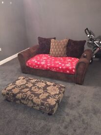 2 person sofa for sale (plus cushions)