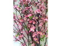 Artificial blossom flowers