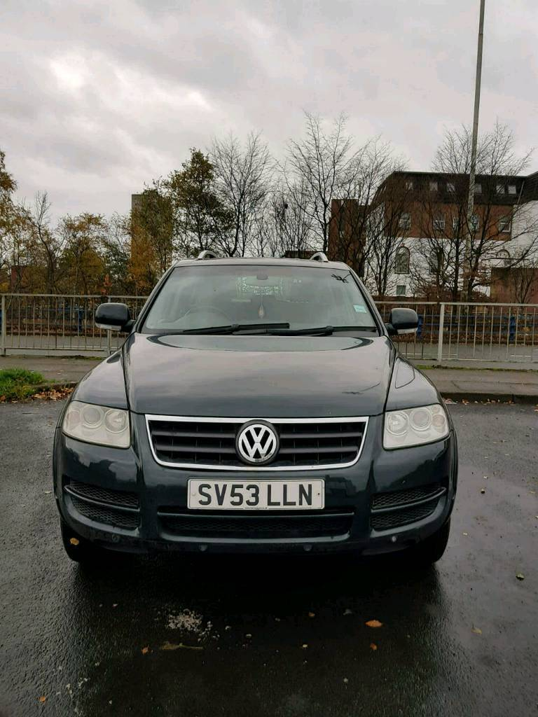 volkswagen touareg r5 4 4 jeep 2 5 tdi low mileage for sale in pendlebury manchester gumtree. Black Bedroom Furniture Sets. Home Design Ideas