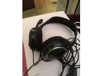 Head phones for X Box - Built in Mic