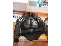 Fox motocross body armour L