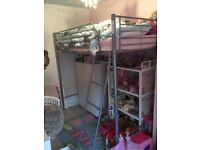 Girls or boys high sleeper bed frame