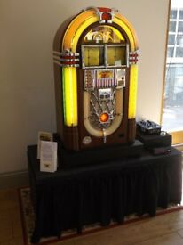Wurlitzer Jukebox Hire Equipment - all you will need to set up in business