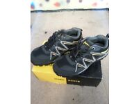 steel safty work trainers