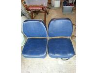 BOAT SEATS IDEAL FOR A RIVER CRUISER OR SPEED BOAT IN VERY GOOD CONDITION