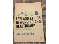 Nursing textbook Law and Ethics in Nursing and Healthcare