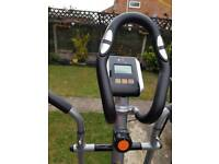 Dual exercise, bike and cross trainer