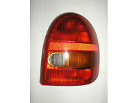 Vauxhall Corsa off side / driver side tail light