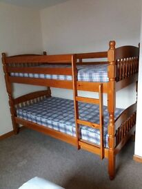 good condition bunk beds only used when guests are staying