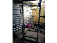 Pull down / wieghts rack
