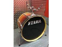 Tama Rockstar Custom drum kit, mahogany fade, excellent condition