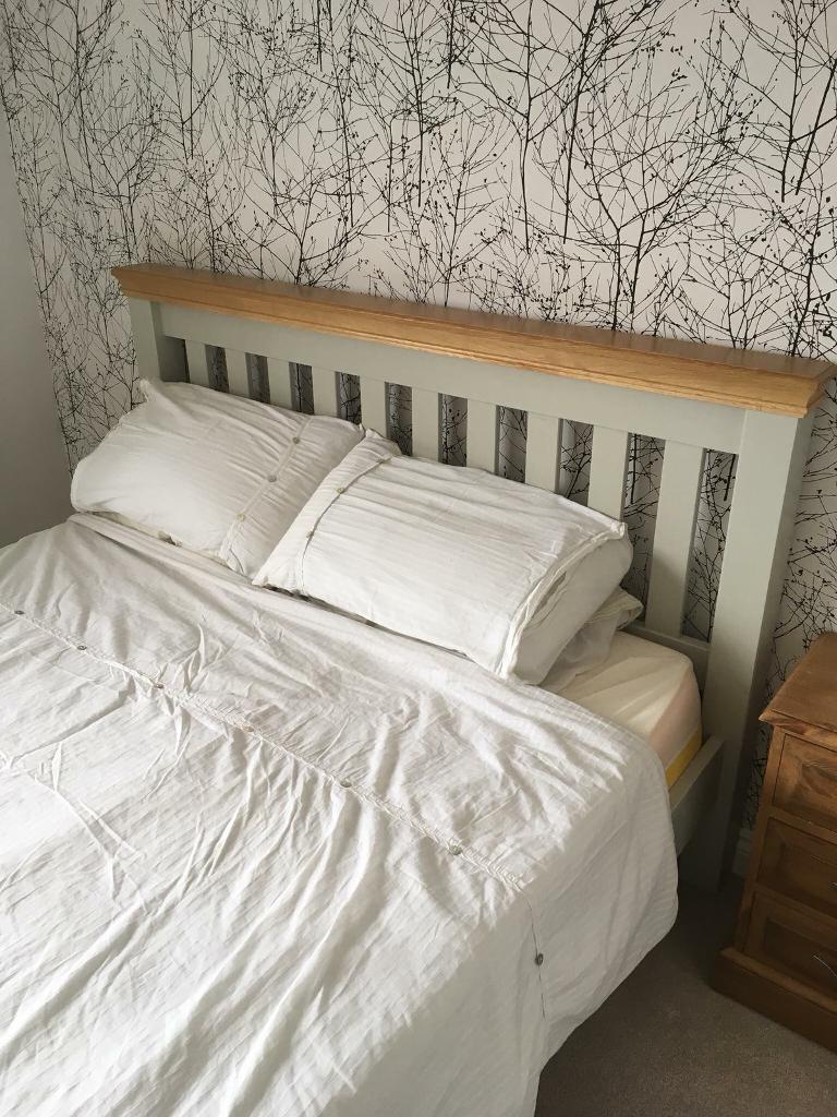 Honest Solid Wood King Size Bed Frame Beds & Mattresses