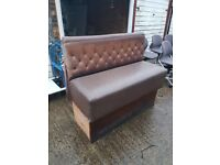 2x Booth High Chair Seating Seats