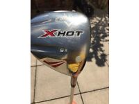 Callaway 9.5 X Hot Degree Driver with Head Cover