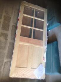 Pine brand new door