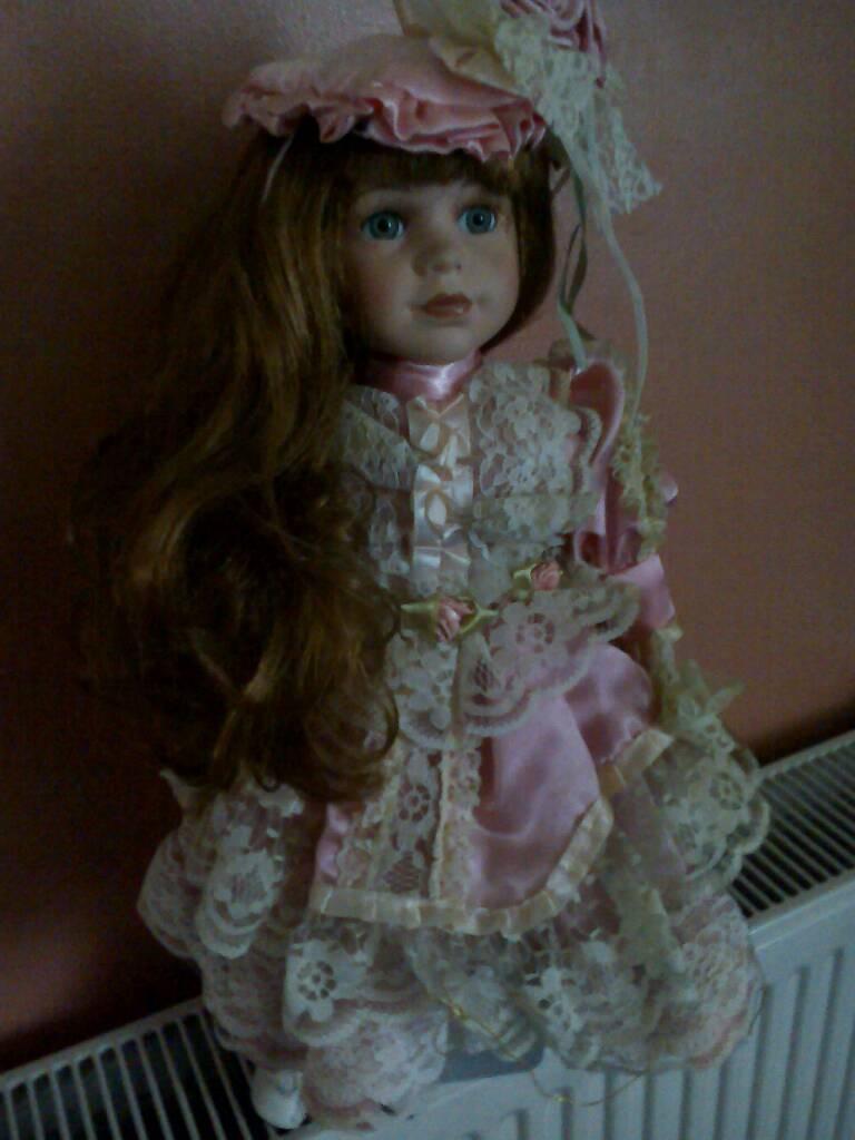 Porcelain doll Leonardo collection