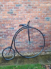 Penny Farthing bicycle by Ollerton mid 19th century