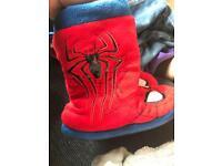 Spider-Man slippers 11-12
