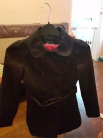 Girls dress and coats age 8-9 and 9-10