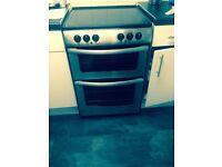 Double oven / grill ceramic hob