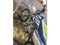 160cc parker racing engine in demon x frame stomp twin exhaust