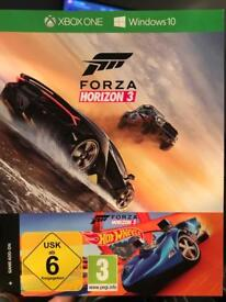 Forza horizon 3 with hot wheels add on £30 Ono